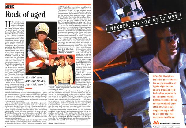 Article Preview: Rock of aged, March 1995 | Maclean's
