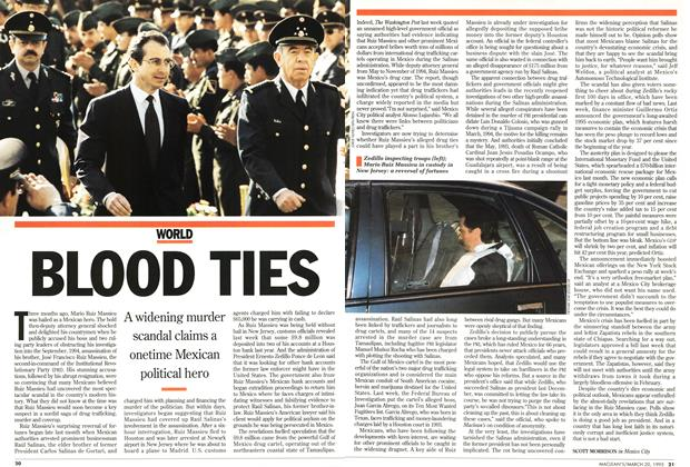 Article Preview: BLOOD TIES, March 1995 | Maclean's