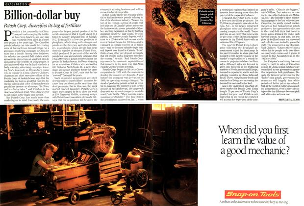 Article Preview: Billion-dollar buy, March 1995 | Maclean's