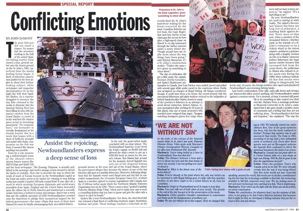 Article Preview: Conflicting Emotions, March 1995 | Maclean's