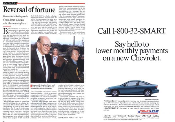 Article Preview: Reversal of fortune, March 1995 | Maclean's