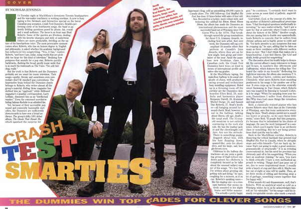 Article Preview: CRASH TEST SMARTIES, March 1995 | Maclean's