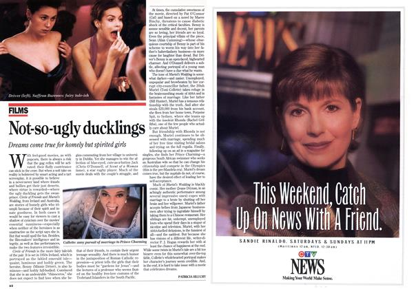 Article Preview: Not-so-ugly ducklings, March 1995 | Maclean's