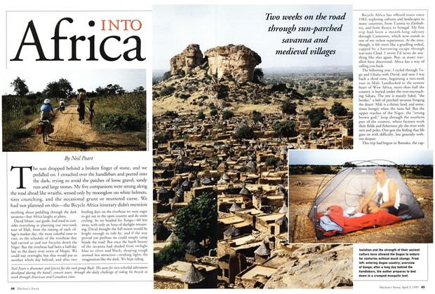 Article Preview: INTO Africa, April 1995 | Maclean's