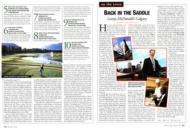 Article Preview: BACK IN THE SADDLE, April 1995 | Maclean's
