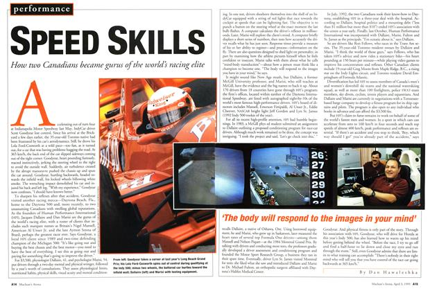 Article Preview: SPEED SKILLS, April 1995 | Maclean's