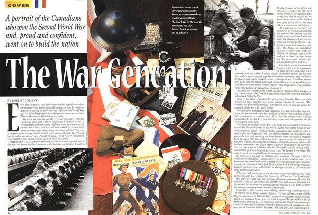Article Preview: The War Generation, April 1995 | Maclean's