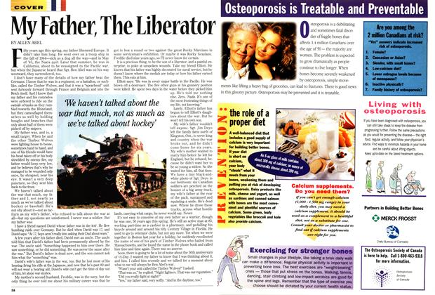 Article Preview: My Father, The Liberator, April 1995 | Maclean's