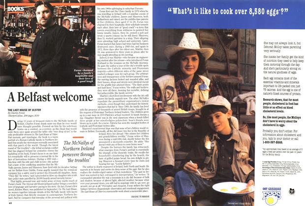 Article Preview: A Belfast welcome, April 1995 | Maclean's