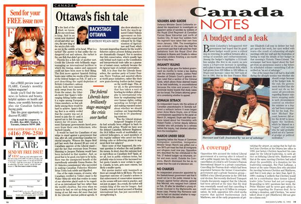 Article Preview: Canada NOTES, April 1995 | Maclean's