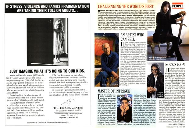 Article Preview: CHALLENGING THE WORLD'S BEST, April 1995 | Maclean's