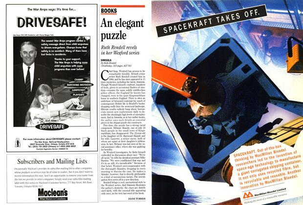Article Preview: An elegant puzzle, April 1995 | Maclean's