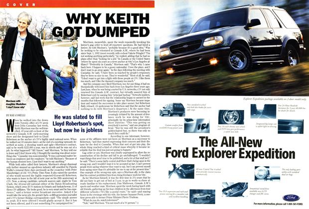 Article Preview: WHY KEITH GOT DUMPED, April 1995 | Maclean's