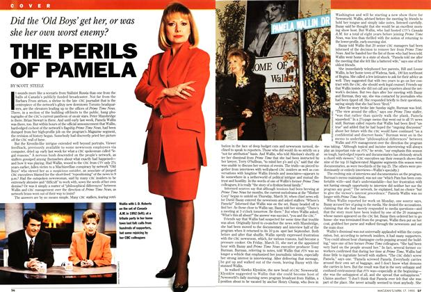Article Preview: THE PERILS OF PAMELA, April 1995 | Maclean's