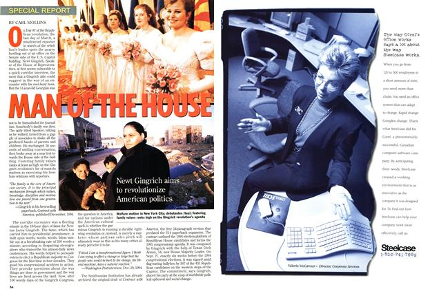 Article Preview: MAN OF THE HOUSE, April 1995 | Maclean's