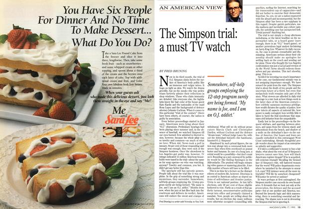 Article Preview: The Simpson trial: a must TV watch, April 1995 | Maclean's