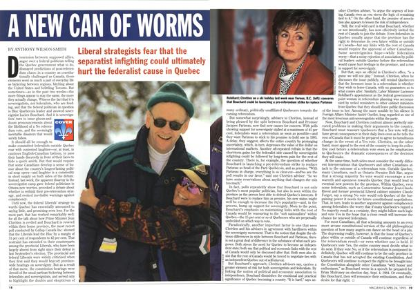 Article Preview: A NEW CAN OF WORMS, April 1995 | Maclean's