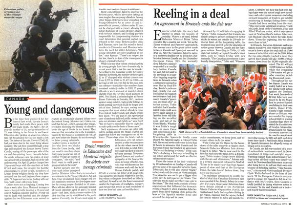 Article Preview: Reeling in a deal, April 1995 | Maclean's