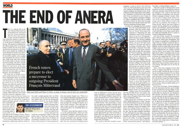 Article Preview: THE END OF ANERA, April 1995 | Maclean's