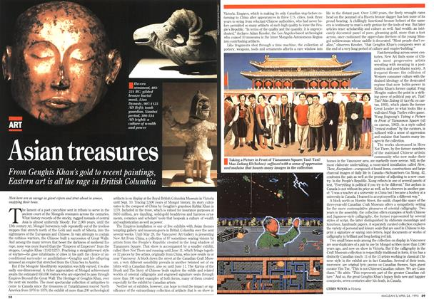 Article Preview: Asian treasures, April 1995 | Maclean's