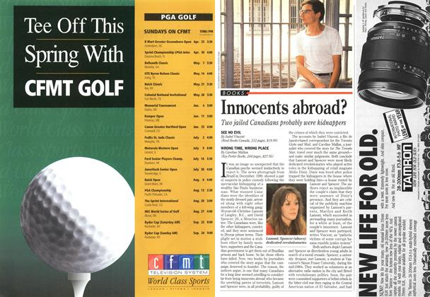 Article Preview: Innocents abroad?, April 1995 | Maclean's