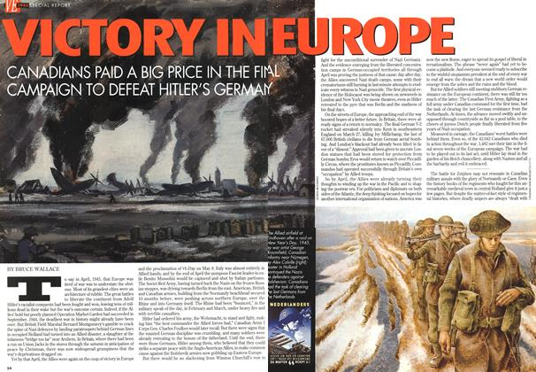 Article Preview: VICTORY IN EUROPE, May 1995 | Maclean's