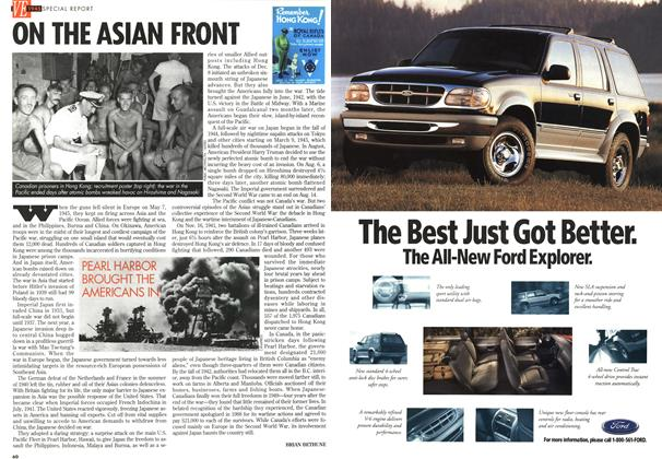 Article Preview: ON THE ASIAN FRONT, May 1995 | Maclean's