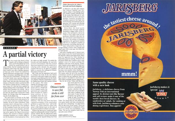 Article Preview: A partial victory, May 1995 | Maclean's
