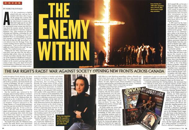 Article Preview: THE ENEMY WITHIN, May 1995 | Maclean's