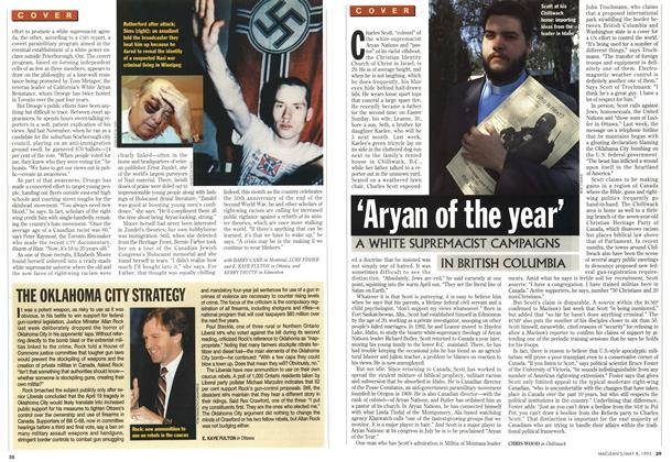 Article Preview: 'Aryan of the year', May 1995 | Maclean's