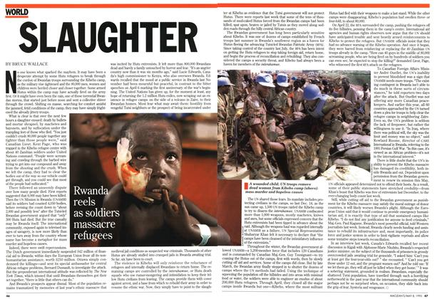 Article Preview: SLAUGHTER, May 1995 | Maclean's