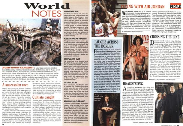 Article Preview: World NOTES, May 1995 | Maclean's