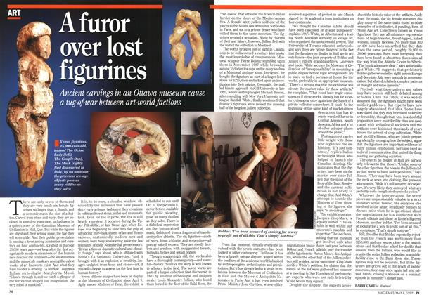 Article Preview: A furor over lost figurines, May 1995 | Maclean's