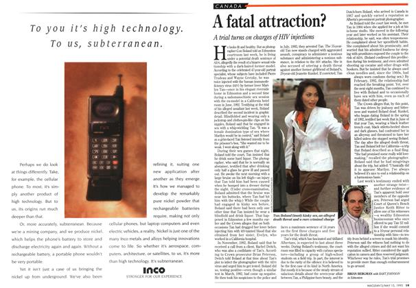 Article Preview: A fatal attraction?, May 1995 | Maclean's