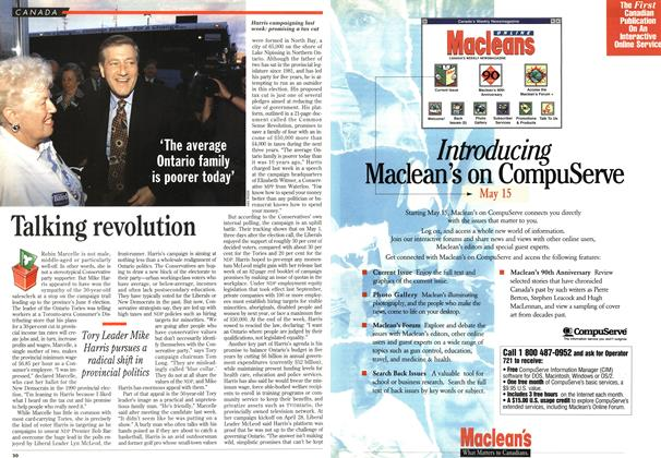 Article Preview: Talking revolution, May 1995 | Maclean's