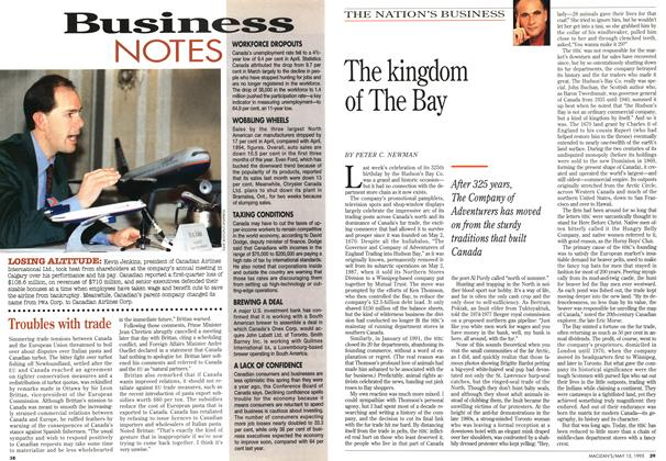 Article Preview: The kingdom of The Bay, May 1995 | Maclean's