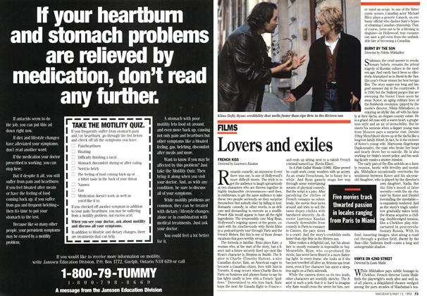Article Preview: Lovers and exiles, May 1995 | Maclean's