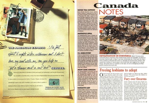 Article Preview: Canada NOTES, May 1995 | Maclean's