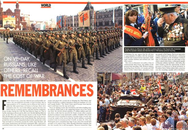 Article Preview: REMEMBRANCES, May 1995 | Maclean's