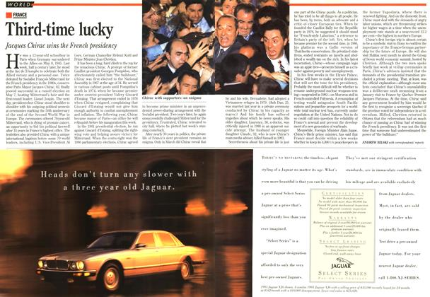 Article Preview: Third-time lucky, May 1995 | Maclean's