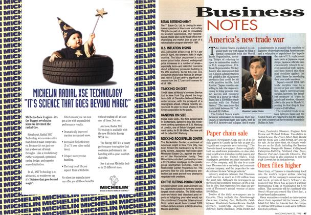 Article Preview: Business NOTES, May 1995 | Maclean's