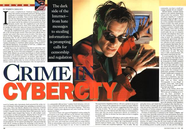 Article Preview: CRIME IN CYBERCITY, May 1995 | Maclean's