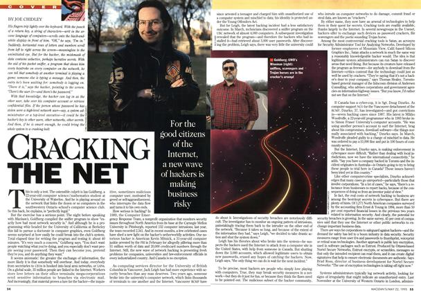 Article Preview: CRACKING THE NET, May 1995 | Maclean's