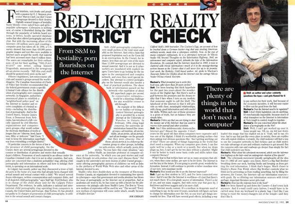 Article Preview: RED-LIGHT DISTRICT, May 1995 | Maclean's