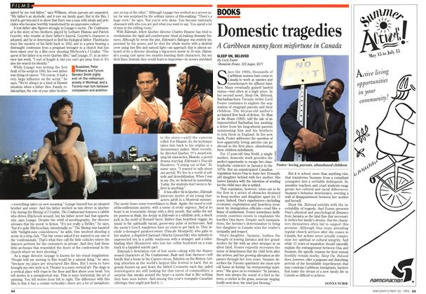 Article Preview: Domestic tragedies, May 1995   Maclean's