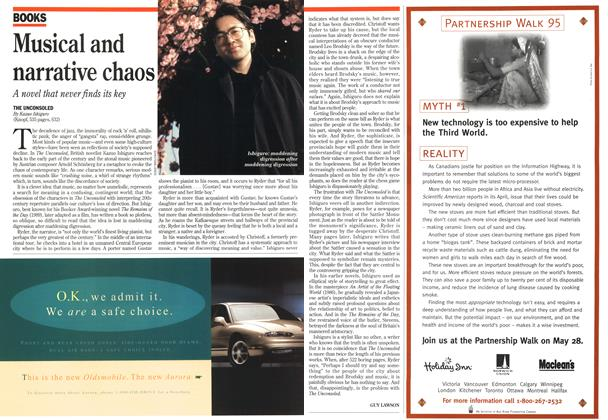 Article Preview: Musical and narrative chaos, May 1995 | Maclean's