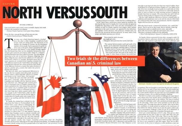 Article Preview: NORTH VERSUS SOUTH, May 1995 | Maclean's