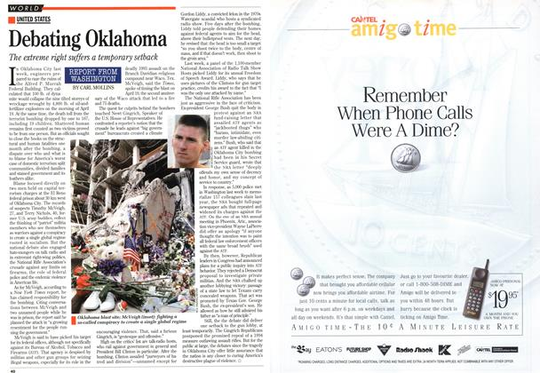 Article Preview: Debating Oklahoma, May 1995 | Maclean's