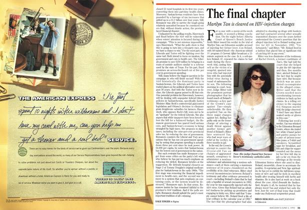 Article Preview: The final chapter, June 1995 | Maclean's