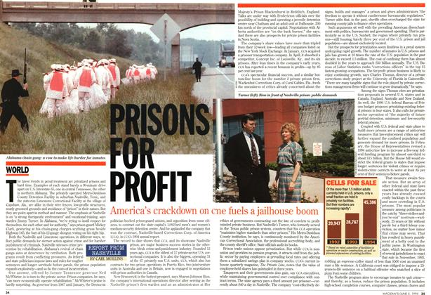 Article Preview: PRISONS FOR PROFIT, June 1995 | Maclean's